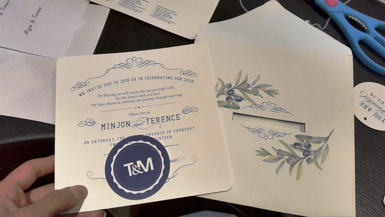 Parts of the Invitation