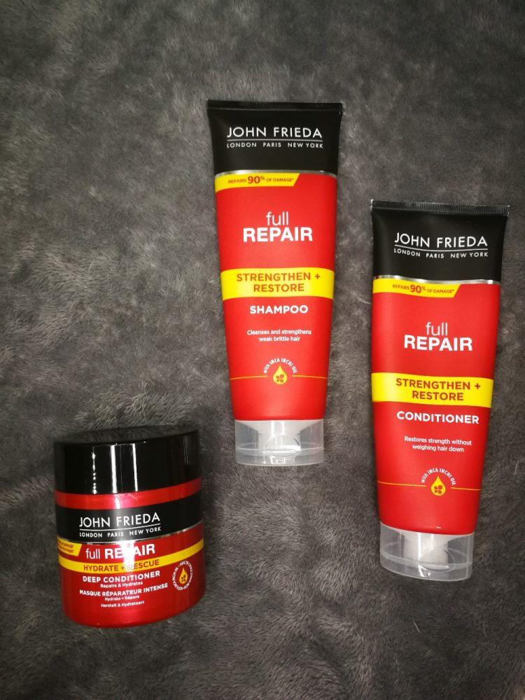 John Frieda Strengthen and Restore Hair Range by The Little Guru