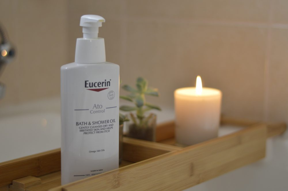 Eucerin Bath and Shower Oil- Dry Skin Solution